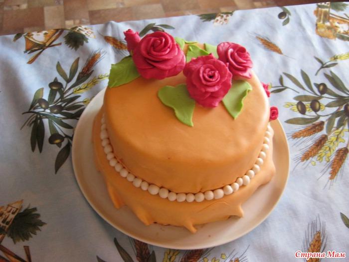 Рецепт торта на день рождения мамы своими руками