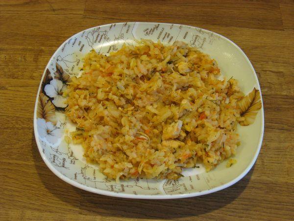 рис с капустой и мясом рецепт с фото