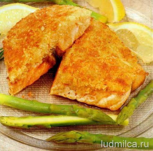 рыба в духовке с корочкой рецепт