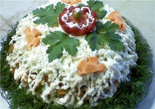 Как приготовить салат томатный сок