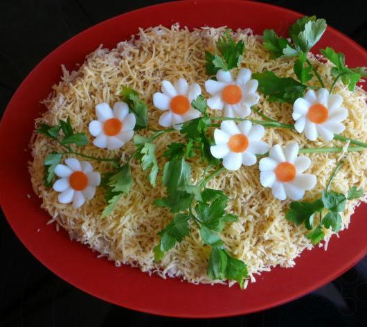 салаты рецепты с фото простые