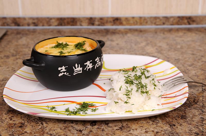 Фото рецепты семги в горшочках