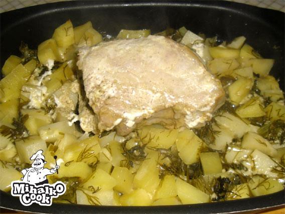 Соус из курицы с картошкой рецепт с фото пошагово в