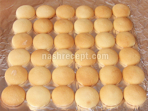бисквитное печенье рецепты с фото