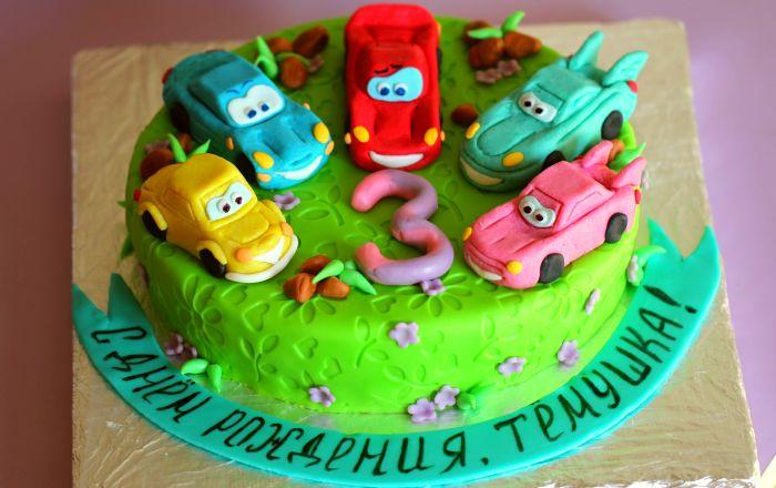 Рецепт торта мальчику на день рождения