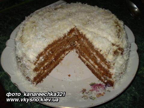 Торт - трухлявый пень