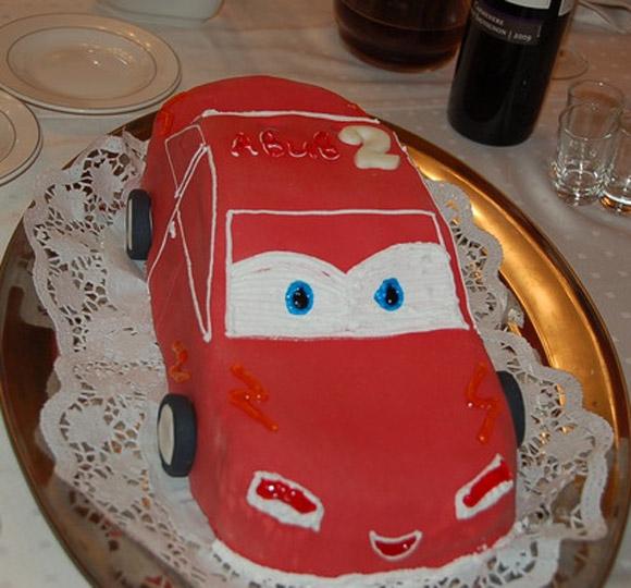 Торт в виде машины своими руками