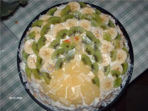 торт мачо с ананасами рецепт
