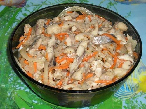 рецепт приготовления вкусных салатов с фото к праздничному столу