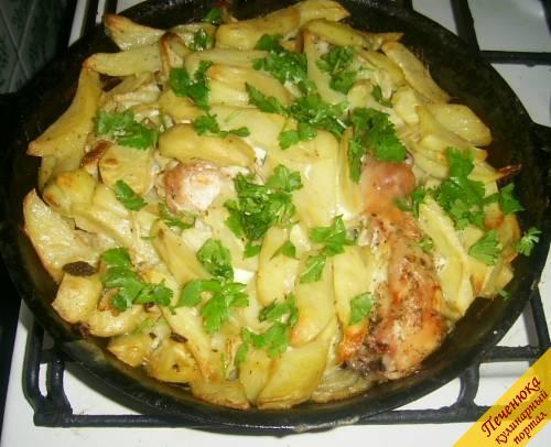 картошка айдахо в духовке рецепт с фото
