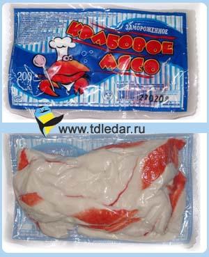 крабовое мясо с огурцом