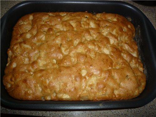 пирожные с яблоками рецепт с фото