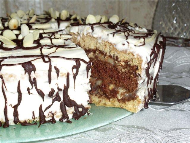 Разные рецепты тортов с фото