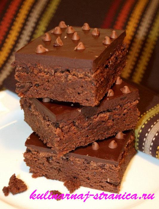 шоколадное пирожные рецепты с фото