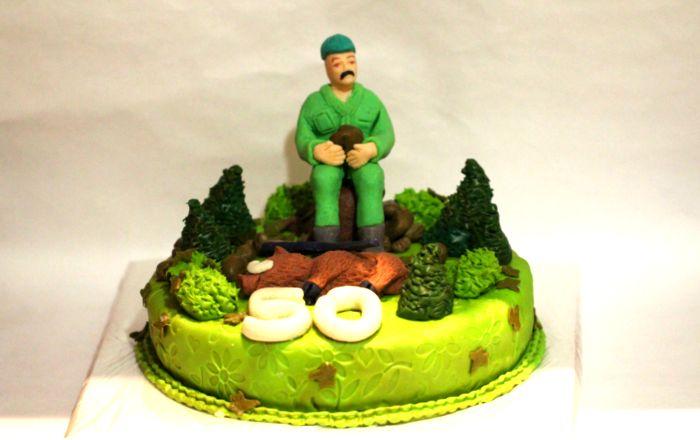 Торт 50 лет