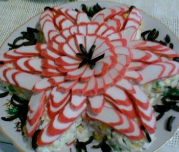 Рецепты салатов на новый год с фото » Вкусные и простые ...: http://retsepty-s-foto.ru/recepty-salatov-na-novyj-god-s-foto.html