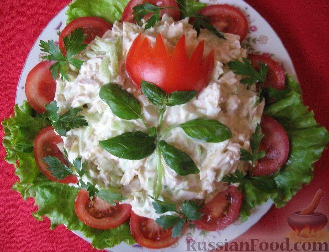 рецепты праздничных салатов с фото на день