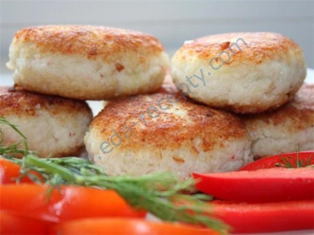 Рыбные котлеты в духовке рецепт из минтая с пошагово