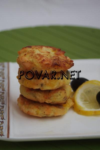 рецепт рыбные котлеты из семги и трески