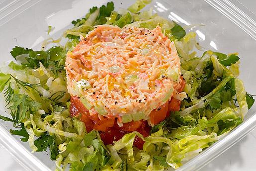 салат из крабового мяса рецепты с фото простые и вкусные