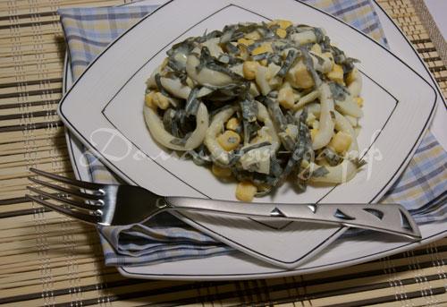 рецепты из морской капусты с фото