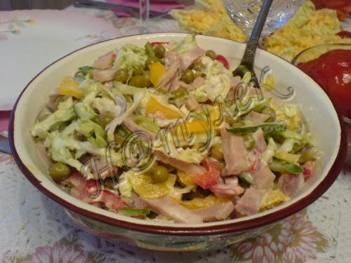 рецепт салата русская красавица с картошкой