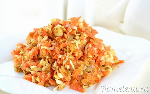 салат сырный с морковью рецепт #5