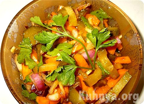 лучшие рецепты салаты на бис