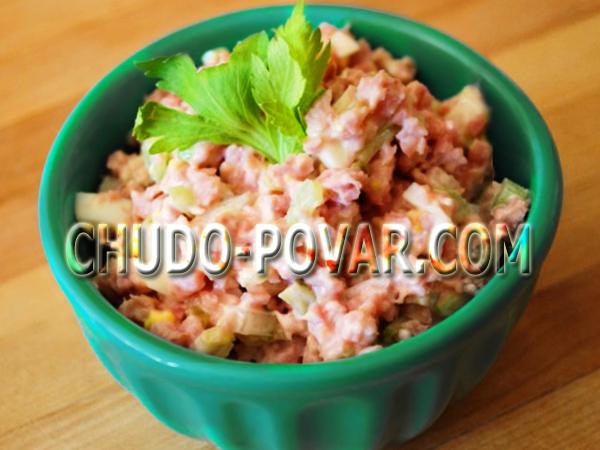 легкие быстрые салаты с пошаговым рецептам с фото