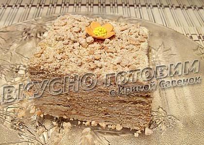 Торт из печенья со
