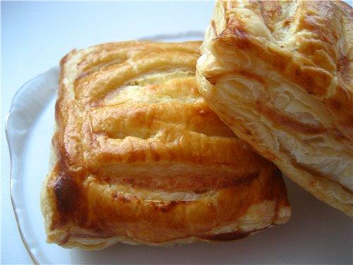 Пирог со щавелем из слоеного теста - пошаговый рецепт с ...