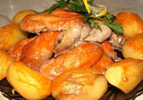 Банкетное блюдо в ресторанах