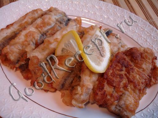 рецепт с фото рыбных котлет с салом