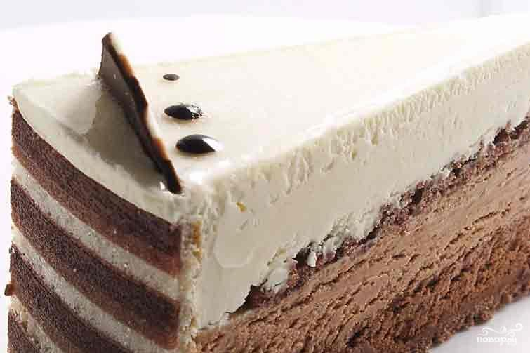 торт три шоколада под мастику рецепт с фото
