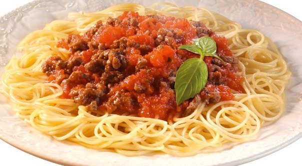 Мясная подливка к спагетти