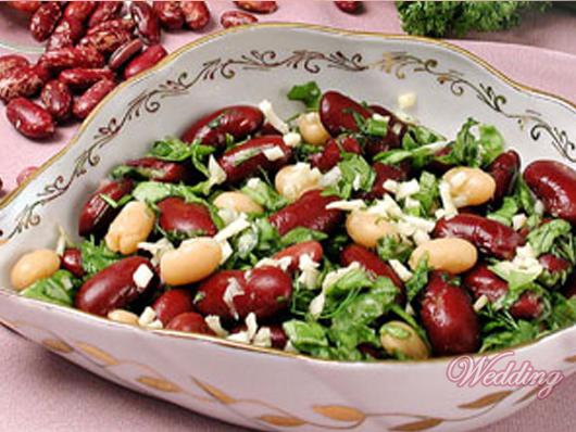 вкусные салаты из фасоли фото