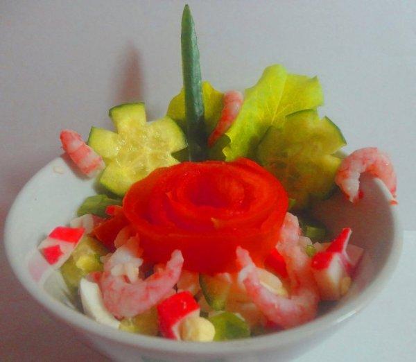 Легкие рецепты салатов из консервы