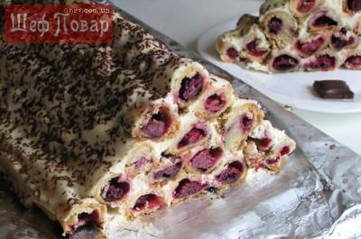 торт вишневый рай рецепт