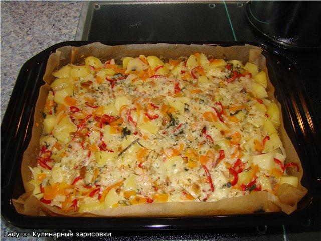 вкусный обед рецепты с фото в духовке с